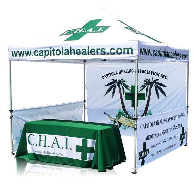 Pop Up Event Tent for Business and Marketing
