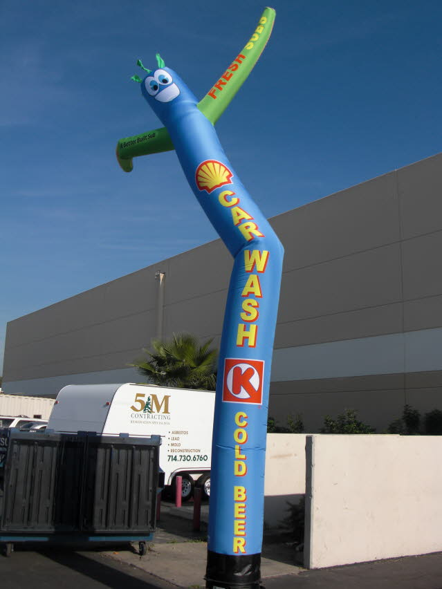 18 Ft Custom Air Puppet Air Dancing Wavy Tube Man