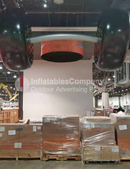custom trade show inflatable