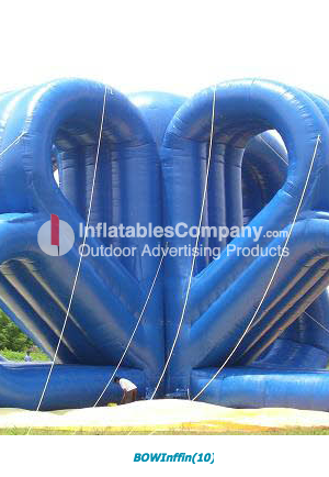 final product inflatable ribbon design