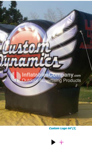 15 foot custom inflatable logo