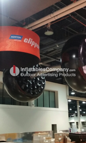custom trade show inflatable. low cost afordable custom trade show balloon.